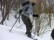スノーシューを履いて白銀の世界へ冒険に出掛けよう!