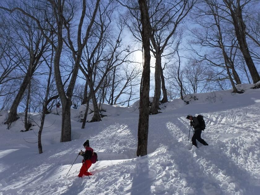 白い世界をハイキング☆1日たっぷりスノーシュー002