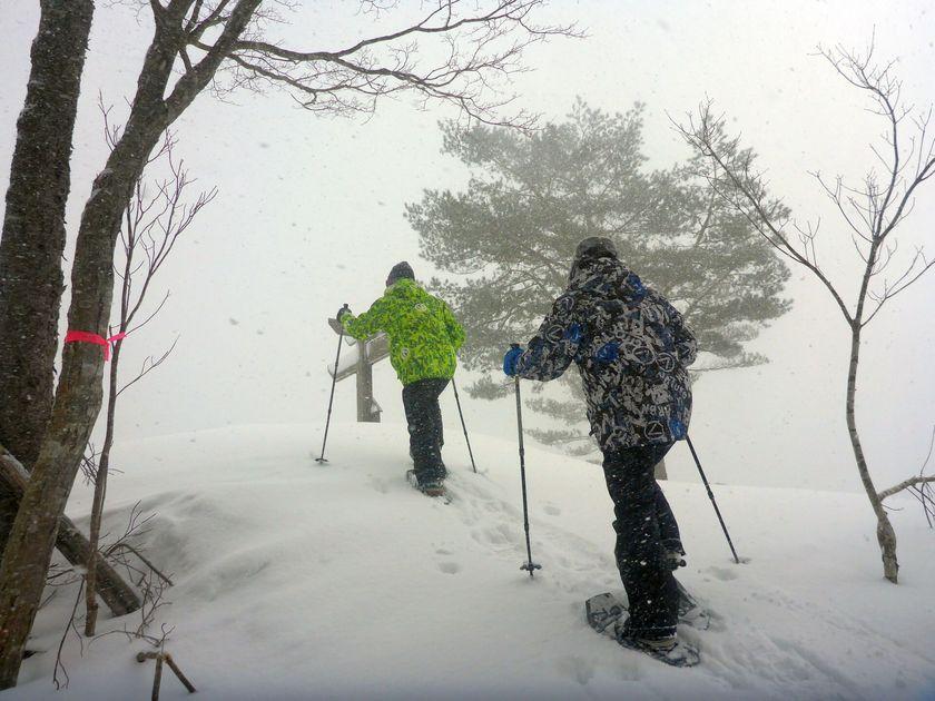 大自然の中でリフレッシュ☆スノーシューツアー002