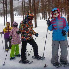 家族で雪上ハイキングへ出かけよう!!