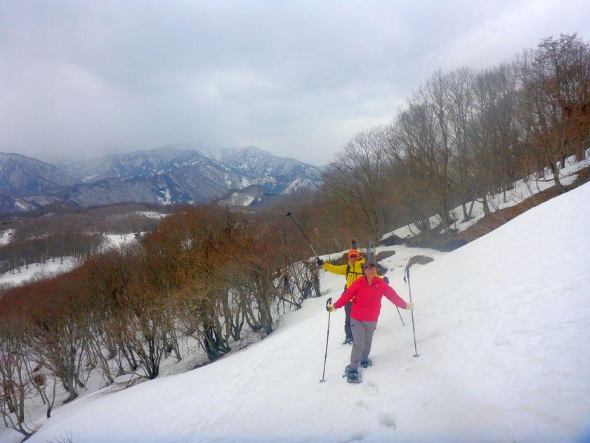 自然に囲まれてリフレッシュ!!スノーシュー1日ツアー☆002