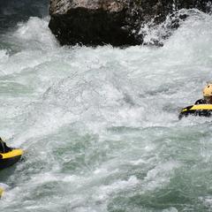 利根川の激流を身体で感じよう!