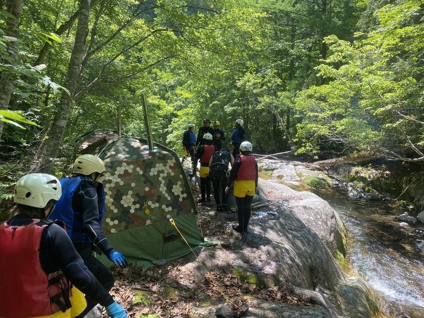 大自然の中で過ごした2日間!SAWA CAMP!002
