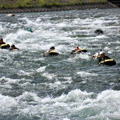 利根川の水がクリアでキレイ!