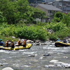 今日も快晴!Enjoy Rafting!