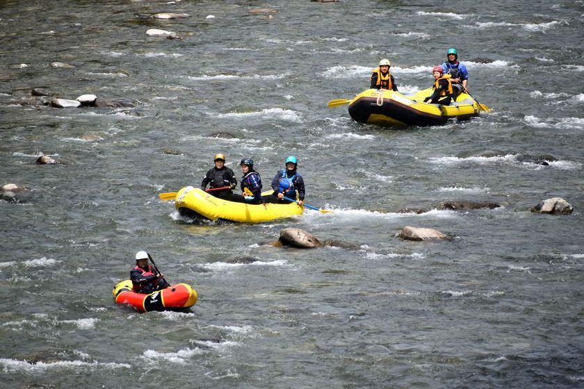 今日も快晴!Enjoy Rafting!002