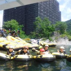 利根川でプカプカ~癒しの時間!
