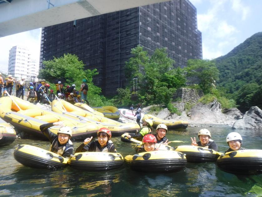 利根川でプカプカ~癒しの時間!001
