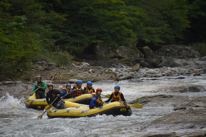夏はやっぱり川遊び!001