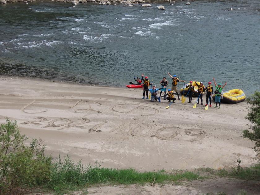 信濃川でスーパー1DAYの如く漕いだっ!001